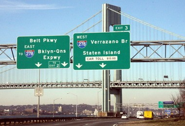 """The budget resolutions -- """"wish lists"""" of what the Assembly and Senate lawmakers to see in the final budget -- would send money to the MTA in order to cut the resident discount on the Verrazano to $5.50 and reduce tolls for commercial vehicles for Island businesses by around half."""