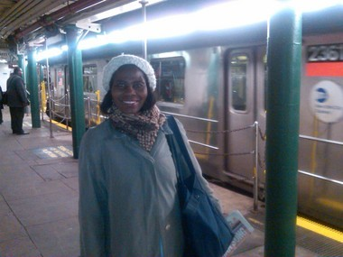 """""""Wonderful"""" was how Elm Park resident Rosina Quarty described the return of the 1 train from the old South Ferry Station."""
