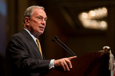 """Since taking control of a failing school system, graduation rates have increased even as requirements have become harder, fewer students are dropping out and more are taking the time to earn their diplomas,"" said Mayor Bloomberg."