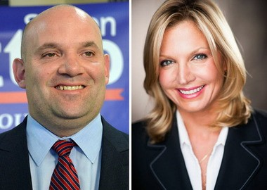 Stephen Matteo and Lisa Giovinazzo are vying for the Republican nod in the Mid-Island City Council race.