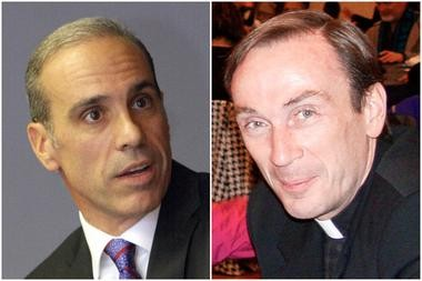 Councilman James Oddo was upset because he didn't receive a return phone call from Father Hallinan, the Jesuit pastor of St. Mary of the Assumption R.C. Church in Port Richmond and Our Lady of Mount Carmel-St. Benedicta R.C. Church in West Brighton. (Staten Island Advance photos)