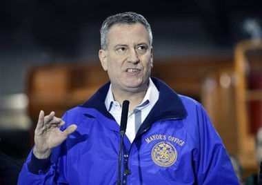 Mayor Bill de Blasio will update New Yorkers on the snow at a press conference.