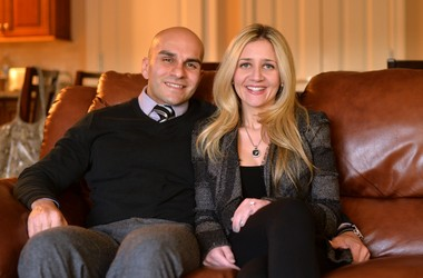 Orlando Vasquez, 37, and Christine Diamond, 27, chose to get in on the ground floor of the St. George Renaissance by buying a condo in The Pointe.