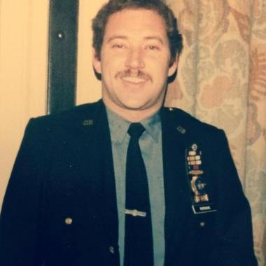A photo of NYPD Sgt. Buddy Murnane as a young man, posted on Facebook.