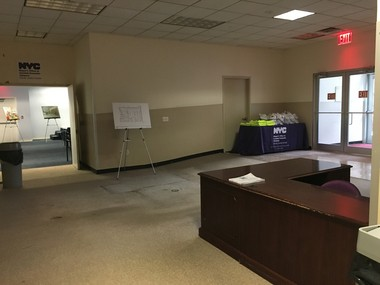 The Staten Island Family Justice Center will be in the first floor of 126 Stuyvesant Pl., where residents called for jury duty used to gather.