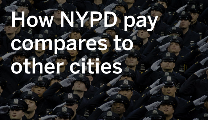 How NYPD pay compares to other cities - silive com