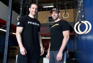 Gil Tal (Left) and Sal DePaola are two fo the owners of The Squat Academy, which opened in April in Charleston. (Staten Island Advance/Amanda Steen)