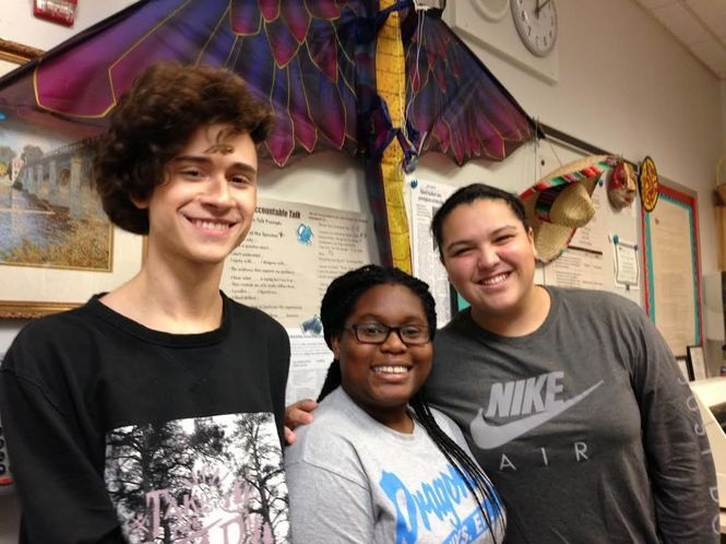 Aidan Subrahimovic, Cheyanne Watson and Jolie Rodriguez have taken advantage of the CSI High School trips abroad. (Staten Island Advance/Claire Regan)