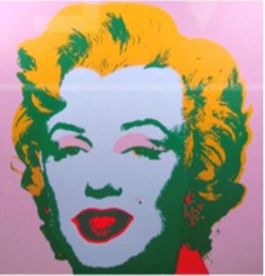 The NYPD has asked for the public's help in locating an Andy Warhol print of Marilyn Monroe that was stolen from a home on Woodvale Avenue on Jan. 1, 2017.