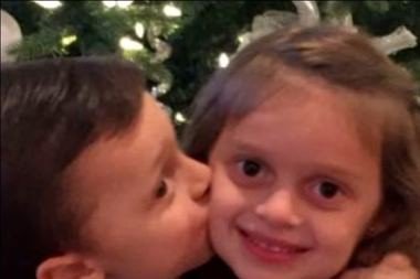 A Go Fund Me page was started by family and friends to benefit three-year-old Ralphie Cimmino, left, and his sister, Gabriella (Gabby), 5, whose mother, Jessica, was killed in a traffic accident. (Family photo)