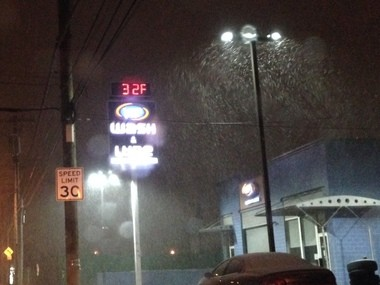 TEMPS DROPPING: Forest Avenue and South Avenue in Mariners Harbor.