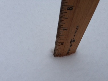5 INCHES: Dongan Hills, 10:55 a.m.