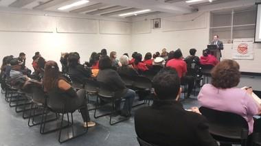 "The ""Keep Kids Covered"" forum was sponsored by the Staten Island Family Health Care Coalition, the Staten Island Mental Health Society and the Children's Defense Fund. (Photo courtesy of Favio Ramirez-Caminatti)"