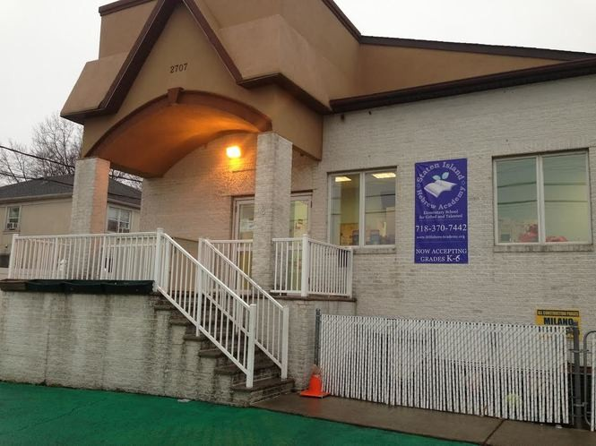 Founded in 2011, Staten Island Hebrew Academy is located at 2707 Hylan Blvd., New Dorp. (Staten Island Advance/Claire Regan)