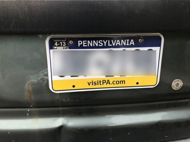 Out-of-state plates: What's legal, what's not - silive com