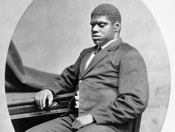 """""""Olio"""" includes poetry about piano prodigy """"Blind Tom"""" Wiggins, born a slave in Georgia in 1849. (Wikimedia Commons)"""