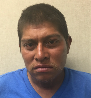 Hector Meza, seen in this photo posted by the Fire Department on social media, has pleaded guilty to criminal mischief for starting a huge fire that tore through and badly damaged three St. George businesses in June.