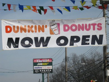 Staten Island is home to 32 Dunkin' Donuts, 28 Subways, and seven Starbucks, according to the report.
