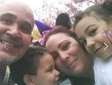 Kimberly Rivera of Rosebank is shown with her family in this photo from her Facebook page.