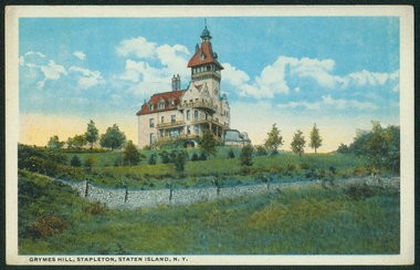 Horrmann Castle was built in 1910 on Howard Avenue. (Staten Island Advance file photo.)