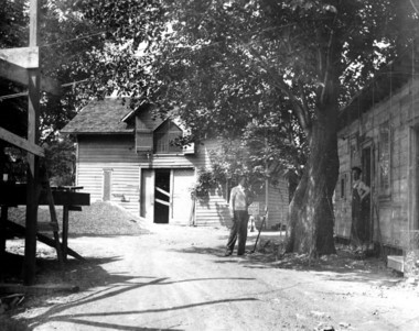 The earliest animals to inhabit the zoo were housed in a barn on the site during construction of the facility. (Staten Island Advance file photo)