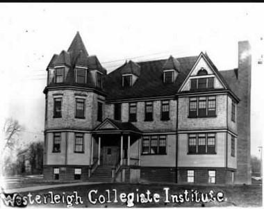 Westerleigh Collegiate Institute on College Avenue. (Courtesy of Staten Island Historical Society)