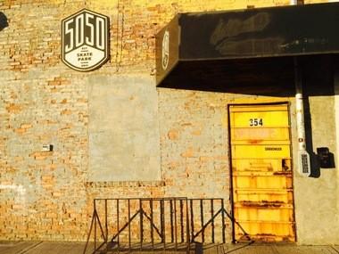 5050 Skate Park on Front Street in Stapleton. Dec. 31, 2014. (Staten Island Advance/Virginia N. Sherry)