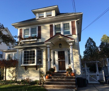 The asking price for this one-family house at 191 College Ave. in Westerleigh is $668,995.