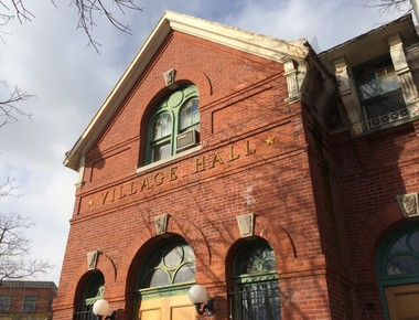 Stapleton activists are calling for restoration of historic Village Hall in Tappen Park and repurposing it for community space and revenue-generating concessions. Monday, Jan. 18, 2016. (Staten Island Advance/Virginia N. Sherry)