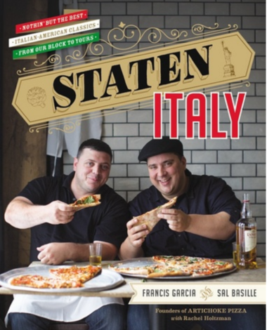 "Sal Basille and Francis Garcia were the subjects of the Cooking Channel's ""Pizza Masters."""
