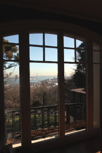 View from the second floor of 79 Howard Ave., Grymes Hill. (Staten Island Advance/Jan Somma-Hammel.)