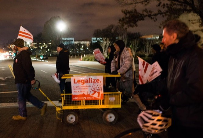 How I bought legal weed in Washington, D C  (commentary