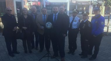 Amid a rash of burglaries across Staten Island, new security cameras will be installed along the Great Kills business strip. (PRCISION) The cameras are the result of an effort from the South Shore Business Improvement District (BID), Councilman Joe Borelli (R-South Shore), the 122 Police Precinct and the Staten Island Chamber of Commerce. (Courtesy of PRcision)