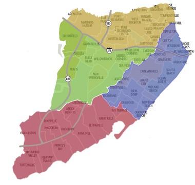 Staten Island is home to 62 neighborhoods.