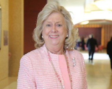 Author and guest speaker Linda Fairstein is pictured at the 2015 Advance Women of Achievement awards luncheon at the Hilton Garden Inn in Bloomfield, Thursday April 16, 2015. (Staten Island Advance/ Jan Somma-Hammel)