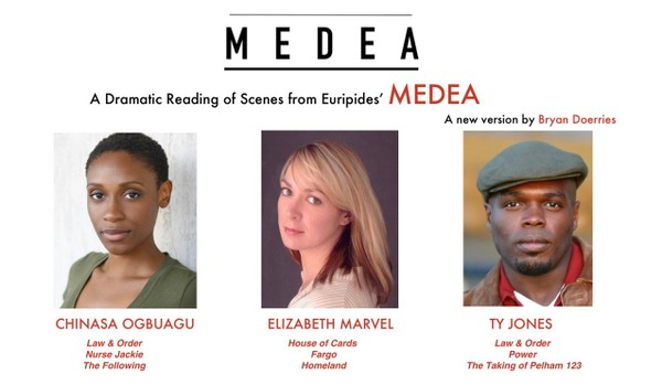 "An acclaimed cast of stage and screen actors star in ""Medea"" from 7-9 p.m. Friday, May 4, at the Central Family Life Center, 59 Wright St., Stapleton. (Courtesy Theatre of War)"