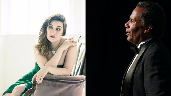 The Oct. 29 Opera Exposures concert will feature Mikayla Sager (soprano) and Anthony Turner (baritone), pictured above; Robert Mack (tenor); pianist Jonathan Kelly (Musical Director); and Special Guest - The Carlyle Hotel's fabulous entertainer, Chris Gillespie. Opera Exposures' Artistic Director Dwight Owsley will be the recital host and narrator. (Photos courtesy the artists)