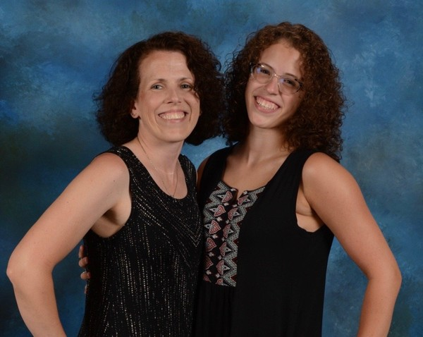 """Lori Ortega, left, and her daughter Meghan Ortega, are co-organizing the fourth annual """"Jeans for Genes"""" fundraiser on Oct. 28. (Courtesy Ortega family)"""