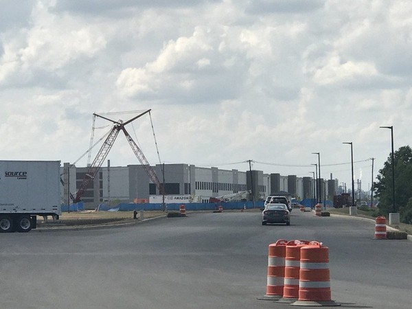 The Amazon warehouse will be one of several at Matrix Global Logistics Park Staten Island in Bloomfield. (Staten Island Advance/Mira Wassef)