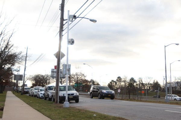 A speed camera is located on Goethals Road North, near the Staten Island School of Civic Leadership. (Staten Island Advance photo)