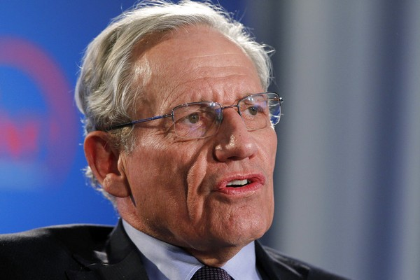"Former Washington Post reporter Bob Woodward says top staffers in President Donald Trump's administration ""are not telling the truth"" when they deny incendiary quotes about Trump attributed to them in his new book. (AP Photo/Alex Brandon, file)"