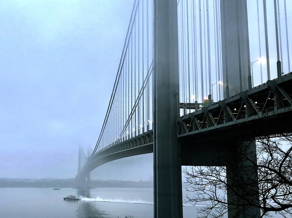 The body of a 68-year-old woman was discovered on the Brooklyn side of the Verrazano-Narrows bridge early Friday morning. (Staten Island Advance/ jan Somma-Hammel)