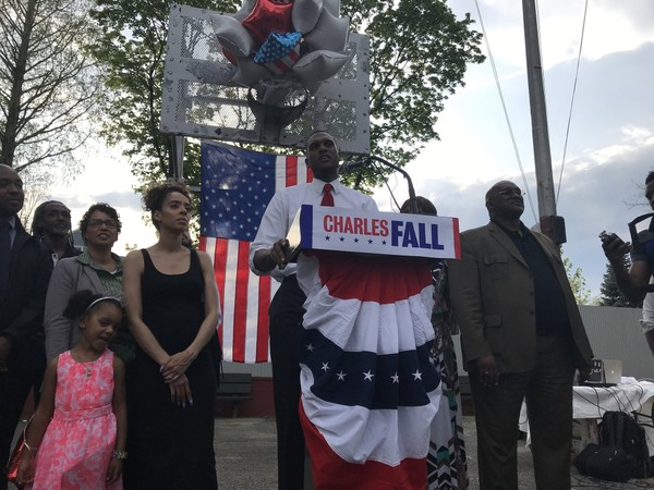 Charles Fall, 29, was endorsed by the Reform Party on Monday. (Staten Island Advance/ Clifford Michel)