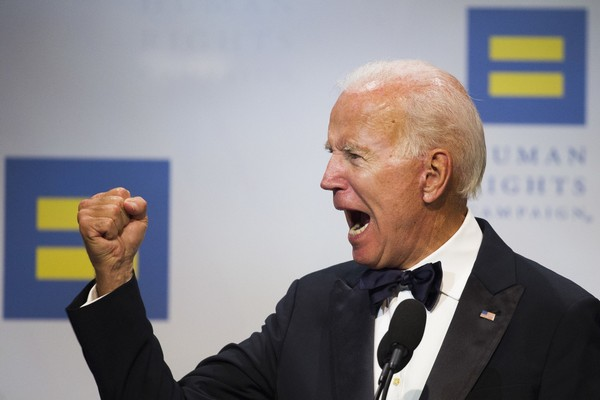 Former Vice President Joe Biden addresses the Human Rights Campaign National Dinner in Washington, D.C., Saturday, Sept. 15, 2018. (Photo/Associated Press)