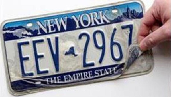 Returning Plates To Dmv Ny >> Peeling License Plate Here S How To Replace It And Avoid A Fine