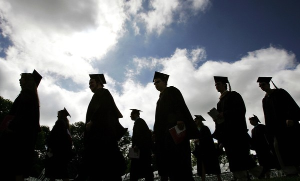 A new report revealed that just 30.8 percent of Staten Island residents have at least a bachelor's degree -- that's roughly half the rate of Manhattan, where 59.9 percent of residents have an baccalaureate degree or higher level of educational attainment. (AP Photo/Mel Evans)