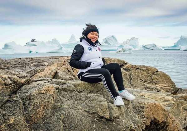 Gabrielle Ryan, 16, is traveling on an Arctic expedition with Students on Ice. (Photo courtesy of Martin Lipman/SOI Foundation)