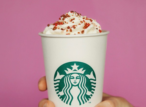 Starbucks launched a new drink, the Cherry Mocha, and sweet treats to celebrate Valentine's Day. (Starbucks photo)