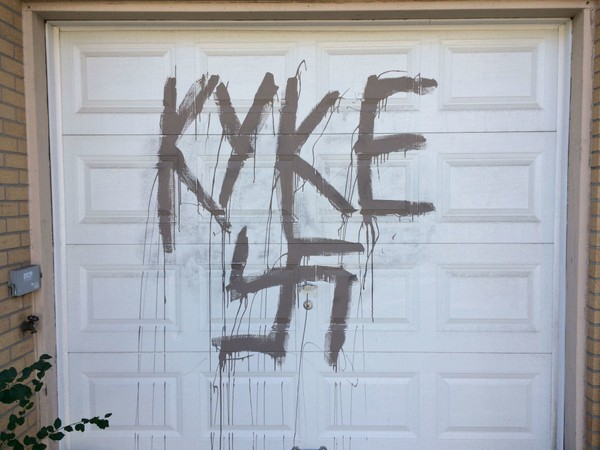 Police Are Investigating A Hate Crime In Rossville After This Slur Was  Found On A Garage