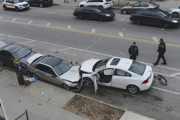 A Staten Island woman was linked to an accident that killed two children in Park Slope Brooklyn March 5, 2018. (Todd Maisel/New York Daily News)